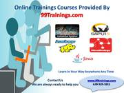 Online training courses provided by 99trainings