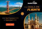 San Francisco to Hyderabad | SFO to Hyderabad | SFO-HYD | Indian Eagle