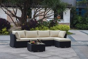 Easter Sunday Sale – Wicker Sectional Sofa Set