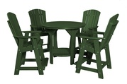 Patio 5 Piece Pub Set