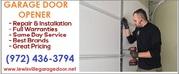 Same Day Service on Garage Door Installation only $26.95 - Lewisville