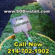 SOD & Sprinkler Installation Sale: 10% OFF