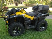 2014 Can Am Outlander 650 XMR ATV