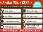 Affordable Roll up Garage Door Repair Services Carrollton,  TX