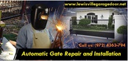 Automatic Gate Repair and Installation in Lewisville,  TX