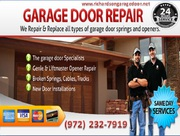 Providing Emergency New Garage Door Installation 75081 TX