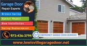 Garage Door Spring  Repair 75056 | (972) 436-3794