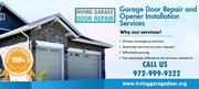 New Garage Door Reoair & Replacement | 75039,  TX