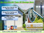 Providing Residential New Garage Door Installation Richardson,  TX