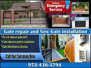 New Automatic Gate Installation in 75056,  TX