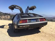 1981 DeLorean DMC-12 Original dealer applied decal