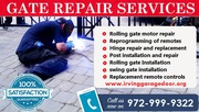Rolling Gate Repair | Automatic Gate Repair - Mesquite TX