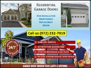 Garage Door Repair in Richardson,  TX | Call us (972) 232-7919