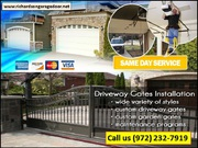 Same Day Services | Gate Repair in Richardson,  TX | Call us 9722327919