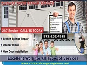 Residential Garage Door Repair in Richardson,  TX | Call (972) 232-7919