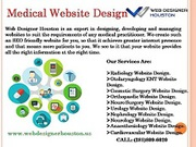 Medical Website Development Company Houston
