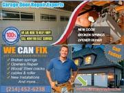 Emergency New Garage Door Installation in Frisco,  TX | Start $25.95