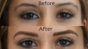 microblading eyebrows before and after- Browbeatstudio