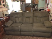 3pc. Sectional couch