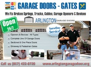 24 hour | Emergency Garage Door Spring Repair ($25.95) Arlington,  TX