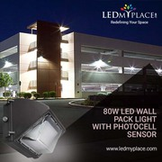 Use 80w LED wall pack lights for Outdoor Lighting Purposes