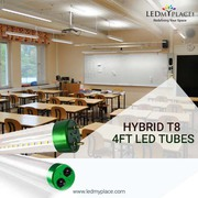 Now Eco friendly Hybrid T8 4ft LED Tubes Available On LEDMyplace