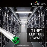 Order Now T8 4ft 18w LED Tubes Clear Plug N play - Ledmyplace