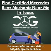 Find Certified Mercedes Benz Mechanic Near Me In Texas