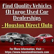 Find Quality Vehicles At Large Used Car Dealerships