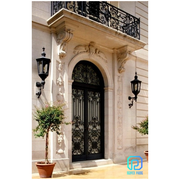 Best Selling Double Wrought Iron Entry Doors
