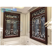Vintage Wrought iron Window Grills With Good Price