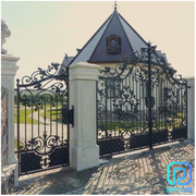 Manufacturer Of High-end Custom Galvanized Wrought Iron Gates